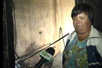 Ольга Скляр, хозяйка сгоревшей квартиры