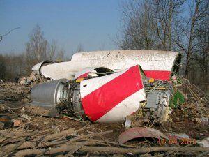Крушение самолета Качиньского под Смоленском.