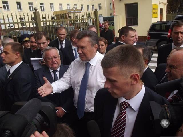 Виктор Янукович в Луцке