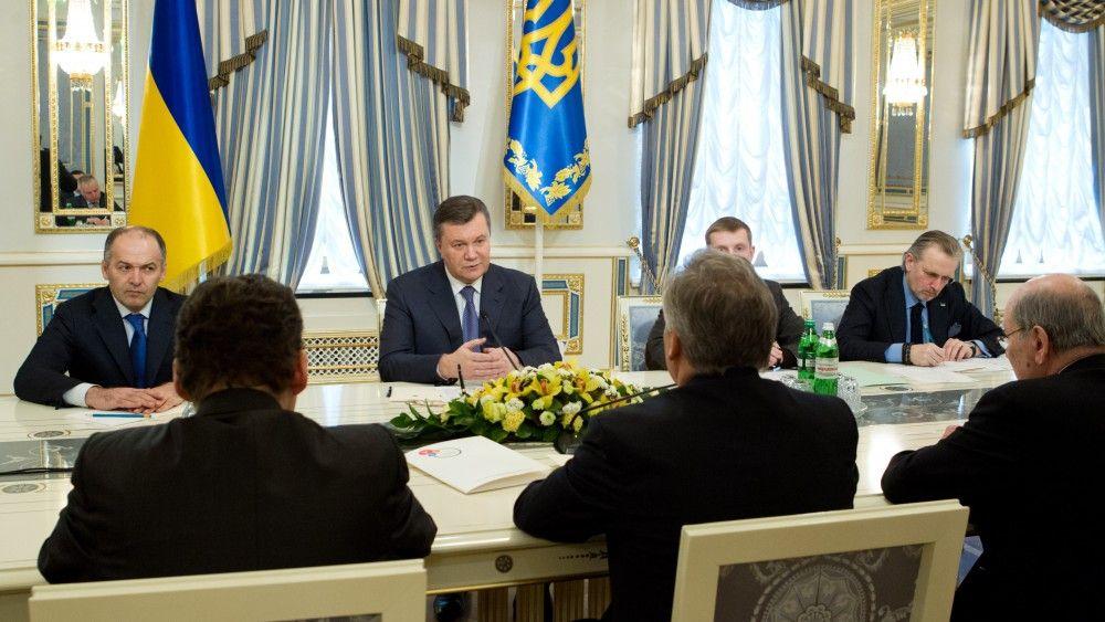 Виктор Янукович на заседании Ялтинского форума