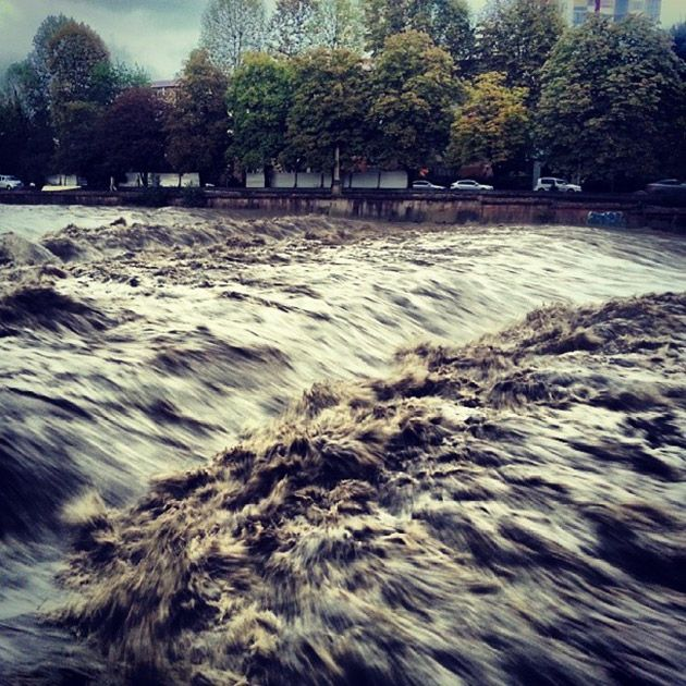 Потоп в Сочи, фото очевидца