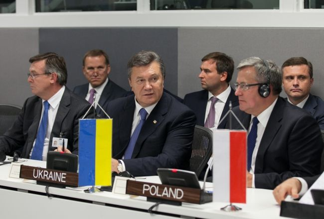 Виктор Янукович в Нью-Йорке