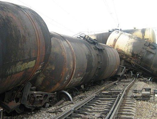 Крушение поезда, иллюстрация