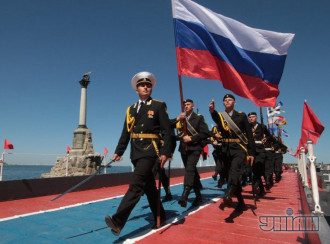 В Крыму базируется Черноморский флот России