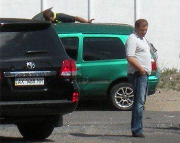 Михаил Добкин попал в ДТП на джипе с номерами 1488