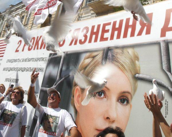 Регионалы выдвигают условия освобождения Тимошенко
