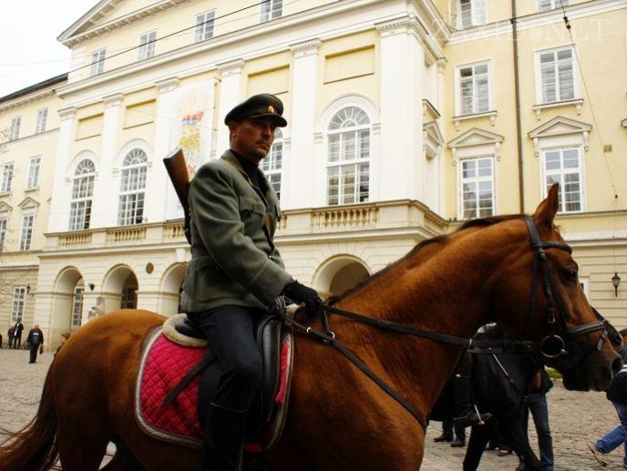 Во Львове прошел марш УПА, опубликованы фото и видео
