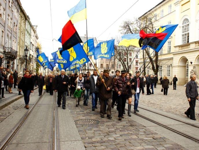 Марш УПА во Львове 20