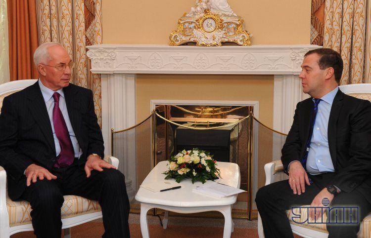 Встреча Медведева и Азарова