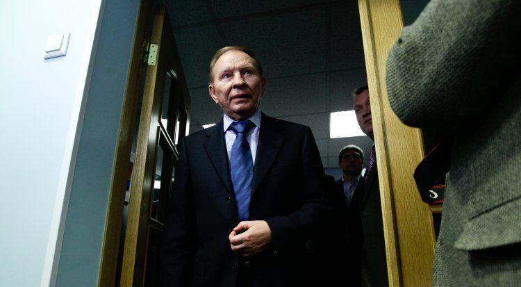 Леонид Кучма распрощался с группой переговорщиков по Донбассу