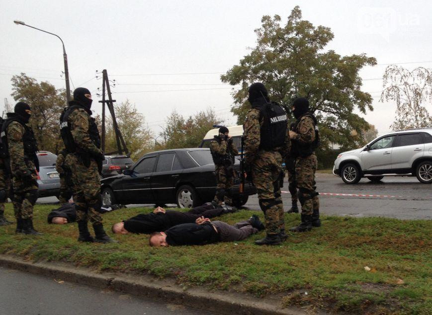 Часть банды была задержана в Запорожье