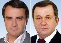 Андрей Павелко и Леонид Сергиенко