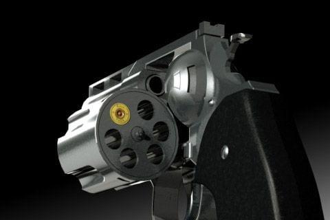 Револьвер, иллюстрация