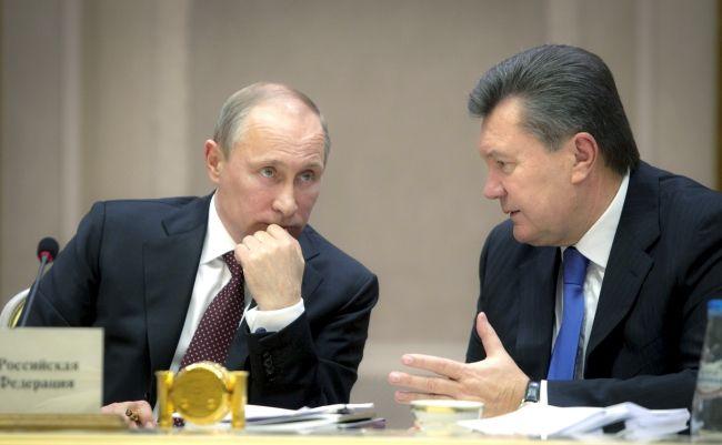 Янукович и Путин на встрече лидеров Таможенного союза