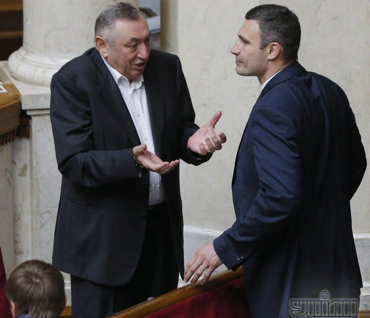 Эдуард Гурвиц и Виталий Кличко