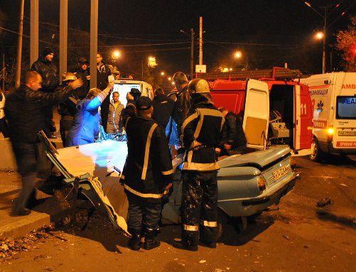 При ДТП в Кривом Роге пострадали два человека