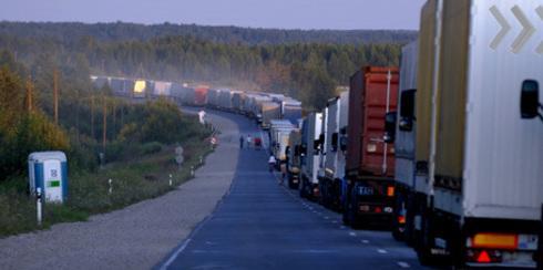 Россия продлила ограничения транзита грузов