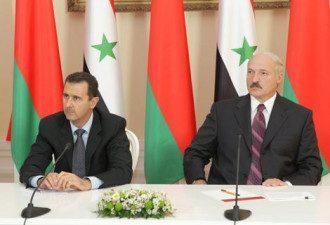 Башар Асад и Александр Лукашенко