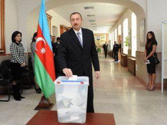 Алиев третий раз стал президентом Азербайджана