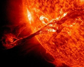 Солнце сейчас на минимуме своего 11-летнего цикла, отметили ученые