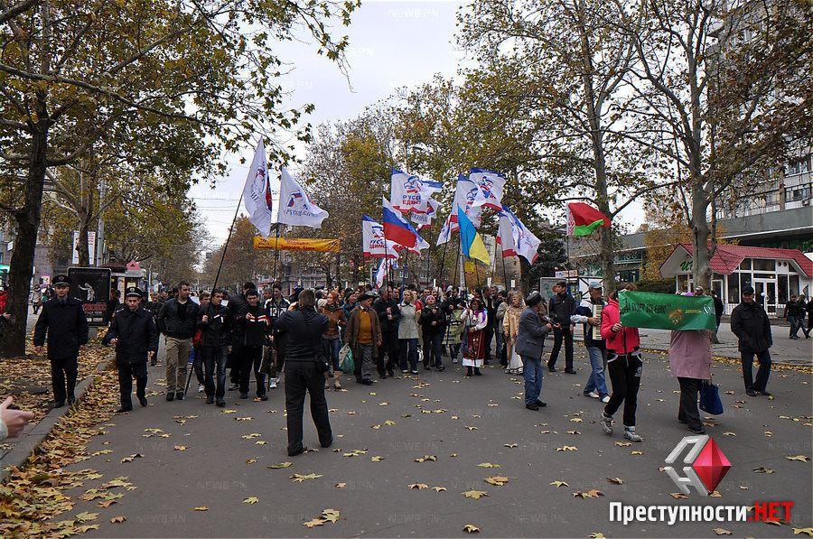 Русский марш, иллюстрация
