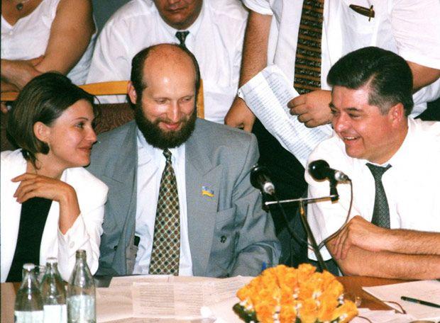 Павел Лазаренко и Юлия Тимошенко с адвокатом