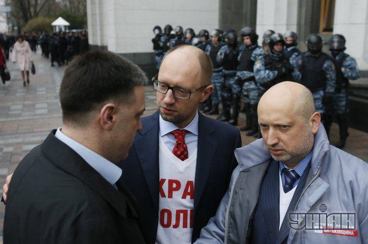 Яценюк раскритиковал регионалов.