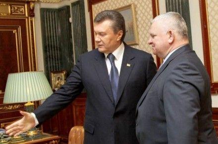 Янукович и Вышиванюк