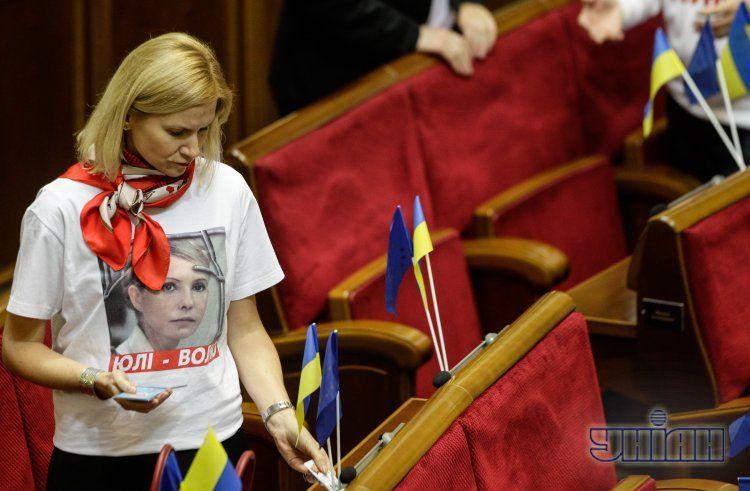 ПР не будет голосовать за лечение Тимошенко