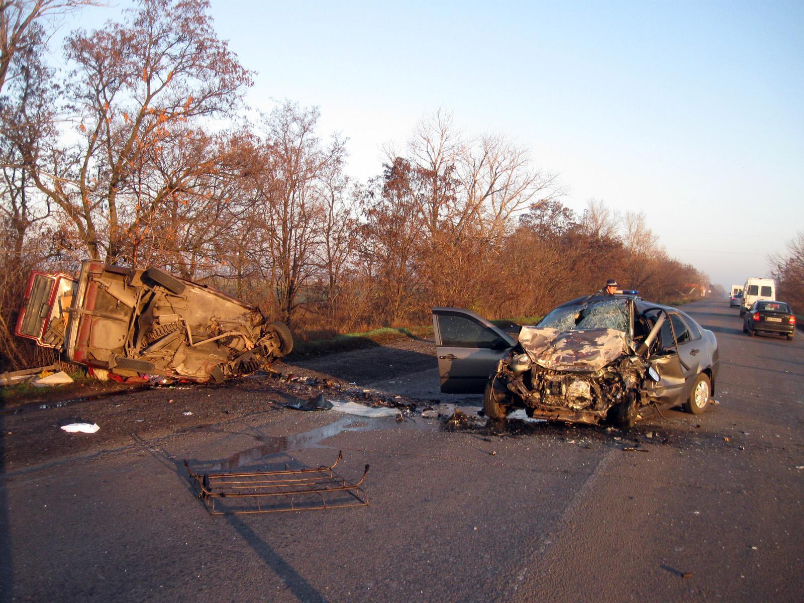 В ДТП на Донбассе погибли три человека