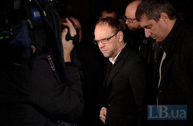 Сергей Власенко после допроса в ГПУ