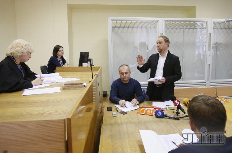 Сергей Власенко в суде