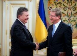 Янукович встретился с Фюле