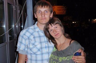 Сергей Старокожко с женой