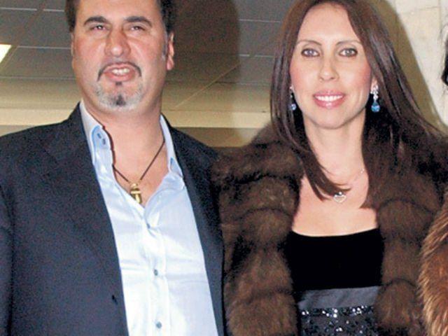 Валерий Меладзе с женой Ириной