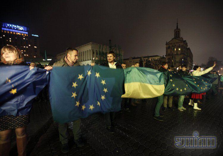Евромайдан в Киеве