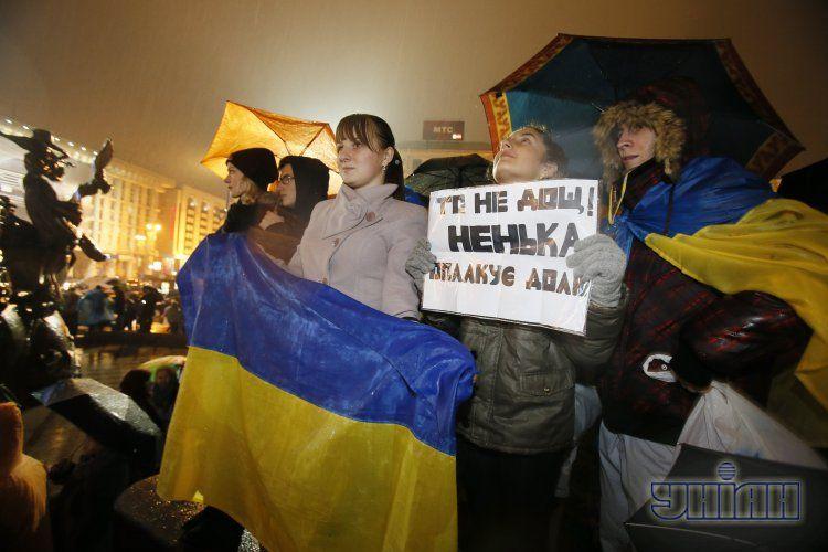 Евромайдан в Киеве, 22 ноября