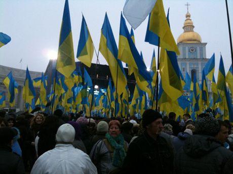 Регаоналы регулярно проводят анти-айданы в Киеве