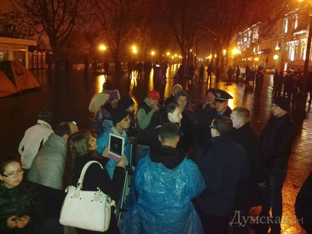 Активистам одесского Евромайдана зачитали решение суда