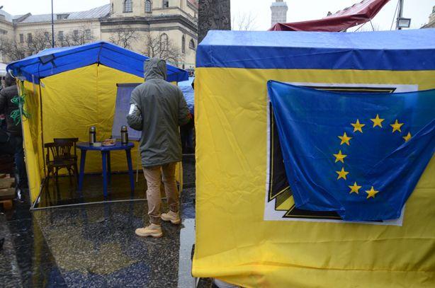 Евромайдан во Львове, иллюстрация