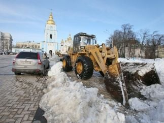 Мартовские снегопады в Киеве побили все рекорды