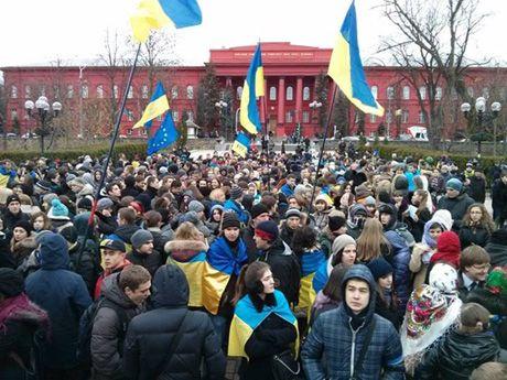 Студенченский Евромайдан