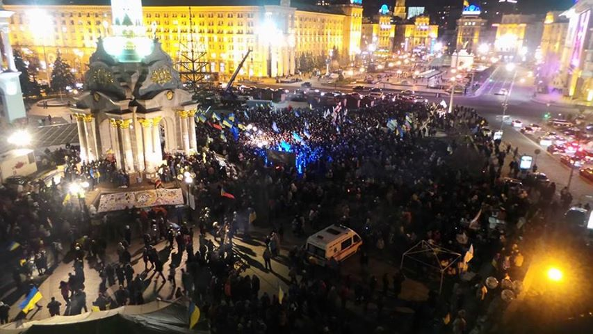 Вечерний Евромадан, 27 ноября