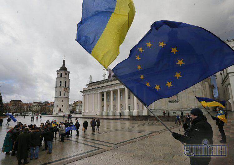 Евромайдан в Вильнюсе