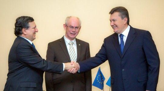 Президент с лидерами ЕС