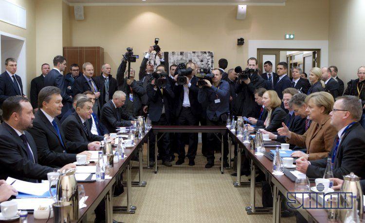 Переговоры на саммите в Вильнюсе