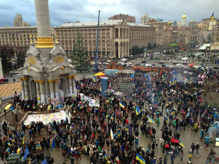 Евромайдан в пятницу, 29 ноября