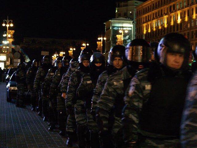 На Евромайдане были сотни