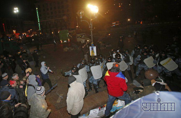 Разгон Евромайдана в ночь на 30 ноября