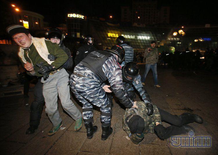 Фото прошлого разгона Евромайдана